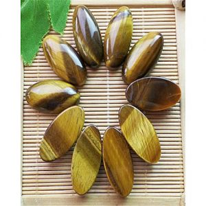 Blue Stone Natural Tiger Eye Gemstone MA 352