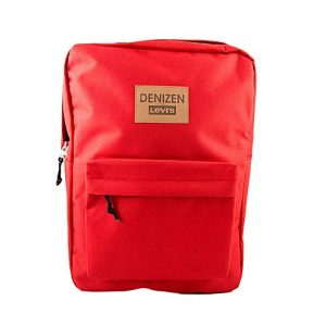 Denizen Red Canvas Bag No FFC MA 3