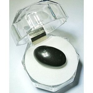 E-world Black Aqeeq Agate Gemstone 28 Carat MA 349
