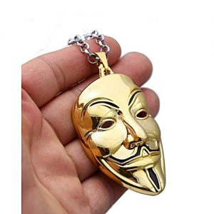 Entice vendetta mask Necklace For Men MA 418