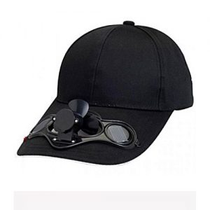 Fashion Inn Attitude Solar Power Hat Cap With Cooling Fan MA 114