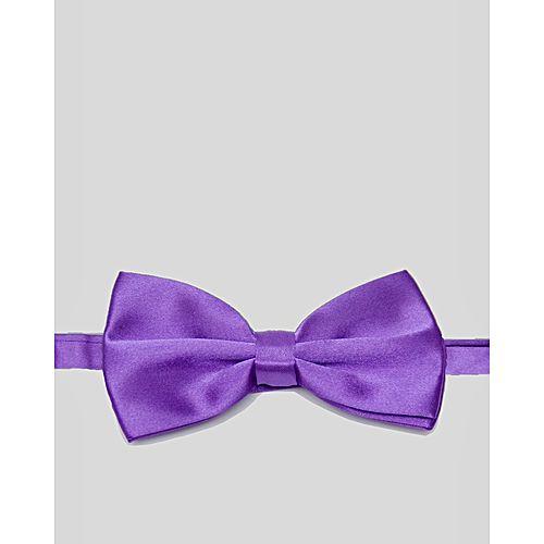 Glitz Executives Purple Adjustable Bowtie MA 712