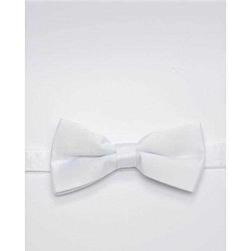 Glitz Executives White Adjustable Bowtie MA 700