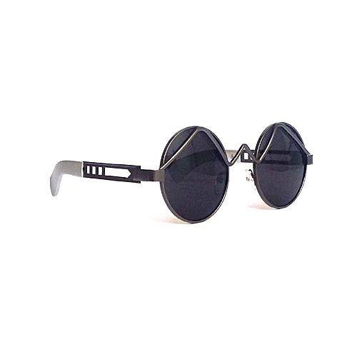 894e41fd580d Hi Charlie Round Sunglasses For Men-Black MA 569 - Menswear.pk