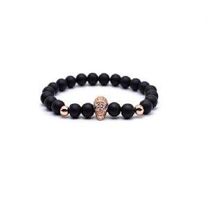 Leo Matte Beads Bracelets for Men MA 77