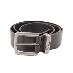 LEVIS Black Leather New Albert Belt For Men MA 146