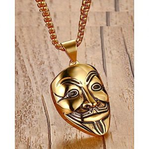Naya Rung Mask Pendant Necklace MA 423