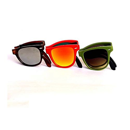 ae7f22cd2d3c Rangeen Pack Of 3 - Multicolor Portable Sunglasses For Men MA 612 ...