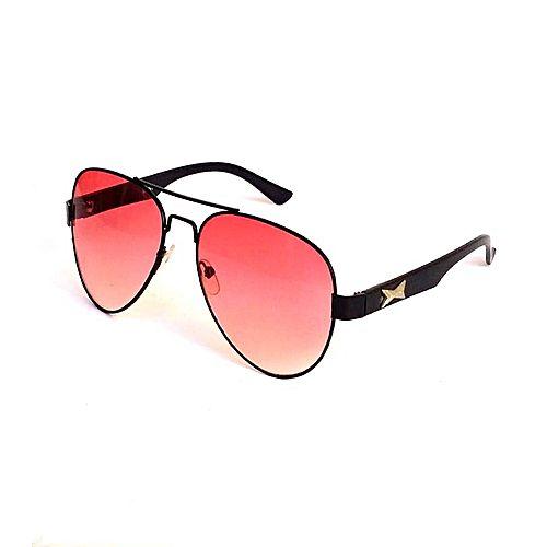 bc285d82af8c Rangeen Red Lens Aviator Sunglasses For Men MA 562 - Menswear.pk