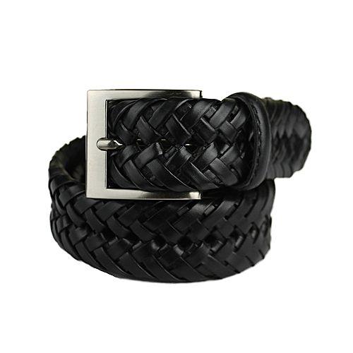 Shahzeb Saeed Leather Black Belt MA 311