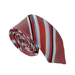 Shahzeb Saeed Red Silk Tie for Men MA 699