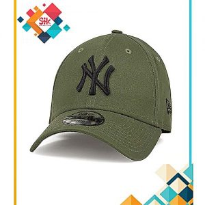 SIK Collection Green Cotton NY Baseball Caps Adjustable For Men MA 115