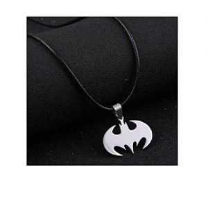 Solo Men's Stainless Steel Batman Necklace MA 413