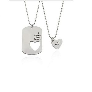 Solo Trendy Couples Necklaces MA 421