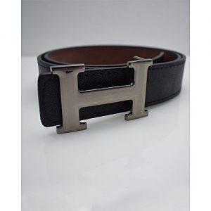 TapNCarry Black Leather Belt - Black - Casual Belt MA 174