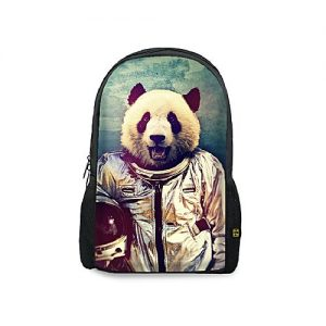 The Warehouse Panda In Space Printed Backpacks MA 2