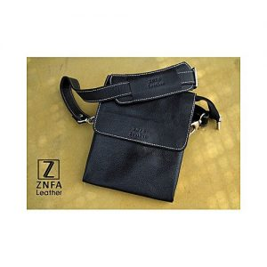 ZNFA Leather Messenger Bag- Cross Body Shoulder Bag MA 1