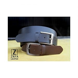 ZNFA Leather Pack of 2 - Genuine Leather Casual Belts MA 150