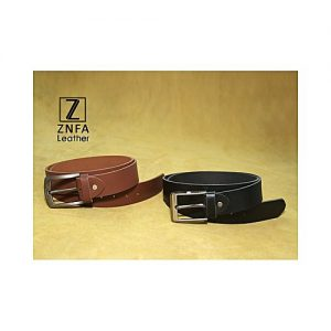 ZNFA Leather Pack Of 2 - Leather Casual Belts MA 142