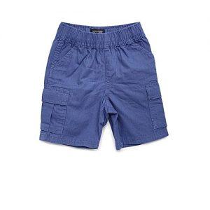 Aashi Men Olive Green Solid Regular Fit Cargo Shorts mw 330