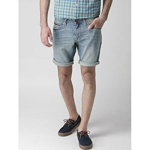 Daraz Fashion Light Blue Denim Shorts For Men mw 442