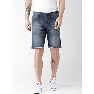 Daraz Fashion Light Blue Denim Shorts For Men mw 444