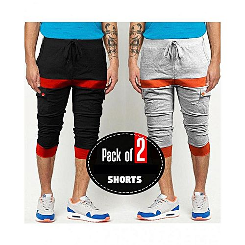 316ecb1f124 MNcollection Pack Of 2 Summer Shorts mw 292 - Menswear.pk