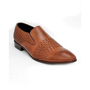 Corio Custom Made Shoes Mustard Brown Men Classic Loafer Style Shoe