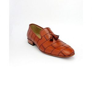 Corio Custom Made Shoes Mustard Tassel Loafer Up Design