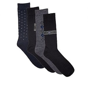 effimart Pack Of 4 Socks Pairs For Men-Mutlicolor MW 240