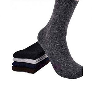 SF-TRADERS Pack of 05 - Multicolored Cotton Socks for Men MW 243