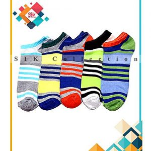 SIK Collection Pack Of 12 - Imported Printed Fancy Ankle Socks For Men MW 242