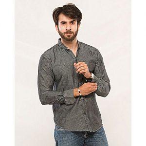 Asset Grey Denim Shirt for Men mw228