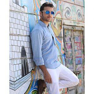 Asset Ice Blue Denim Shirt for Men mw232