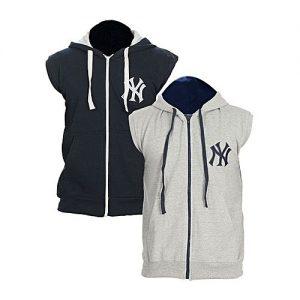 Aybeez Pack of 2 NY Fleece Hoodie for men mw147