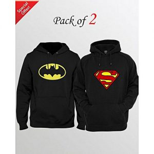 Aybeez PACK OF 2 PRINTED HOODIES FOR MEN mw1