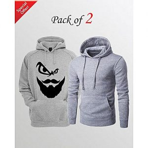 Aybeez PACK OF 2 PRINTED HOODIES FOR MEN mw104