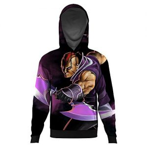 The Warehouse Anti-mage ALL OVER PRINTED HOODIE-Multicolor-AO-HOOD-70-XS mw71