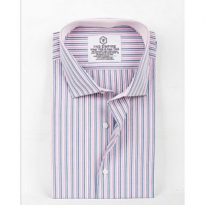 YNG Empire Multicolor Egyptian Cotton Shirt For Men mw71