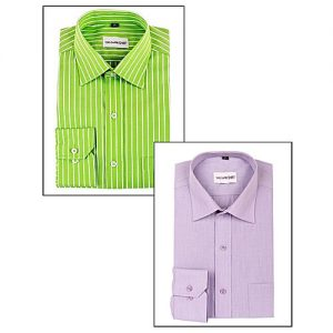 YNG Empire Pack Of 2 - Egyptian Cotton Shirts For Men mw119