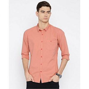 YNG Empire Peach Casual Shirts For Men mw35