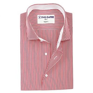 YNG Empire Pink Egyptian Cotton Shirt For Men mw133