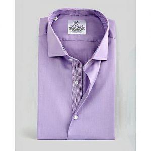 YNG Empire Purple Premium Cotton Formal Shirt for Men mw22