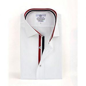 YNG Empire White Premium Cotton Formal Shirt for Men mw17