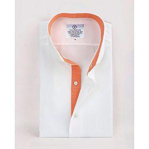 YNG Empire White Premium Cotton Formal Shirt for Men mw18