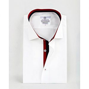 YNG Empire White Premium Cotton Formal Shirt for Men mw51