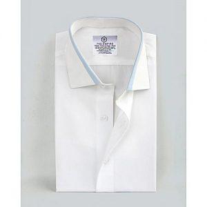 YNG Empire White Premium Cotton Formal Shirt for Men mw9