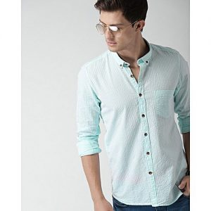 YNG Empire YNG TURQUOISE CASUAL SHIRTS FOR MEN mw25