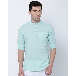 YNG Empire YNG TURQUOISE CASUAL SHIRTS FOR MEN mw26