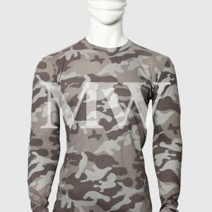 Men's Military Style camouflage Printed Full Sleeve T-shirt